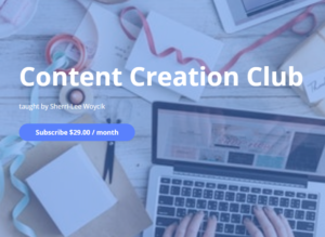 Title Page for Content Creation Club