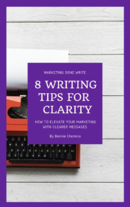 "Cover for ""8 Writing Tips for Clarity"""